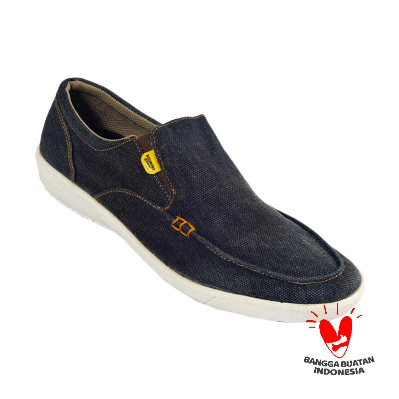 Country Boots Starlate Canvas Sepatu Pria - Blue