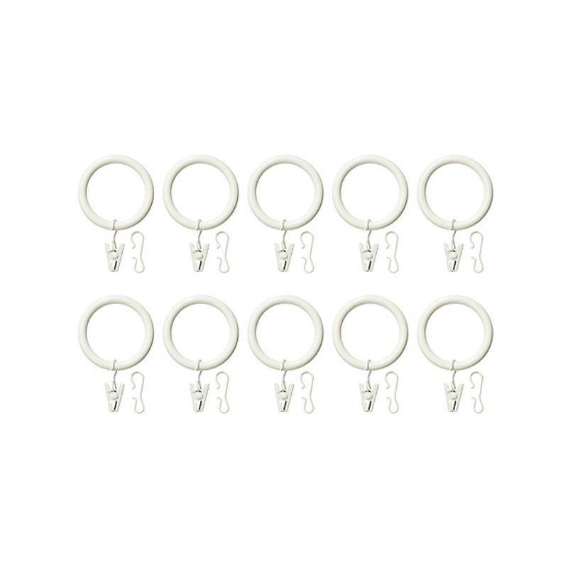 Ikea Syrlig Cincin Gorden Klip & Pengait - Putih