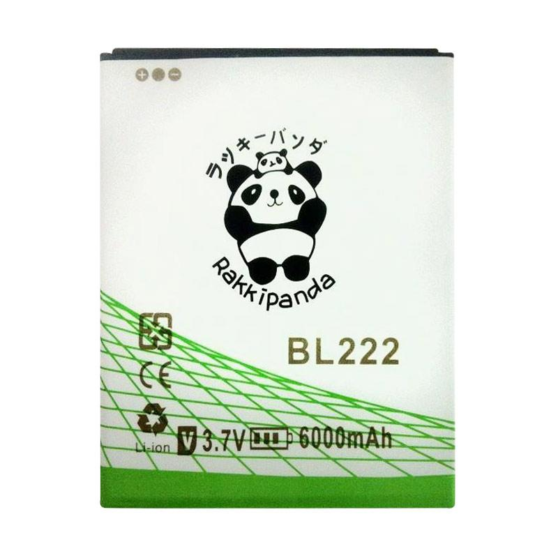RAKKIPANDA Double Power Double IC Battery for LENOVO S660 BL-222