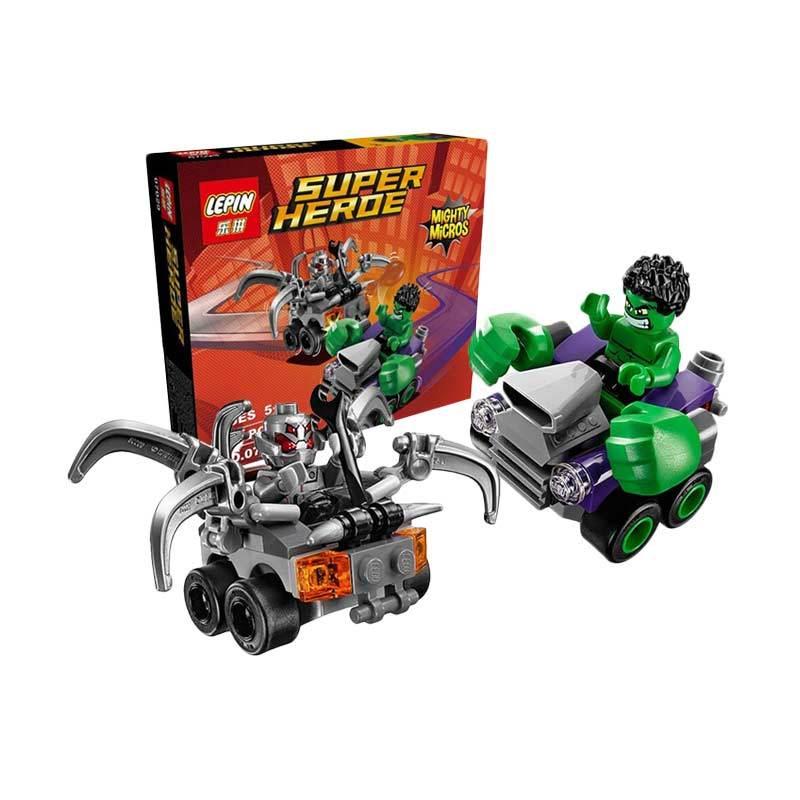 Lepin Super Heroe Mighty Micros Hulk Blocks & Stacking Toys