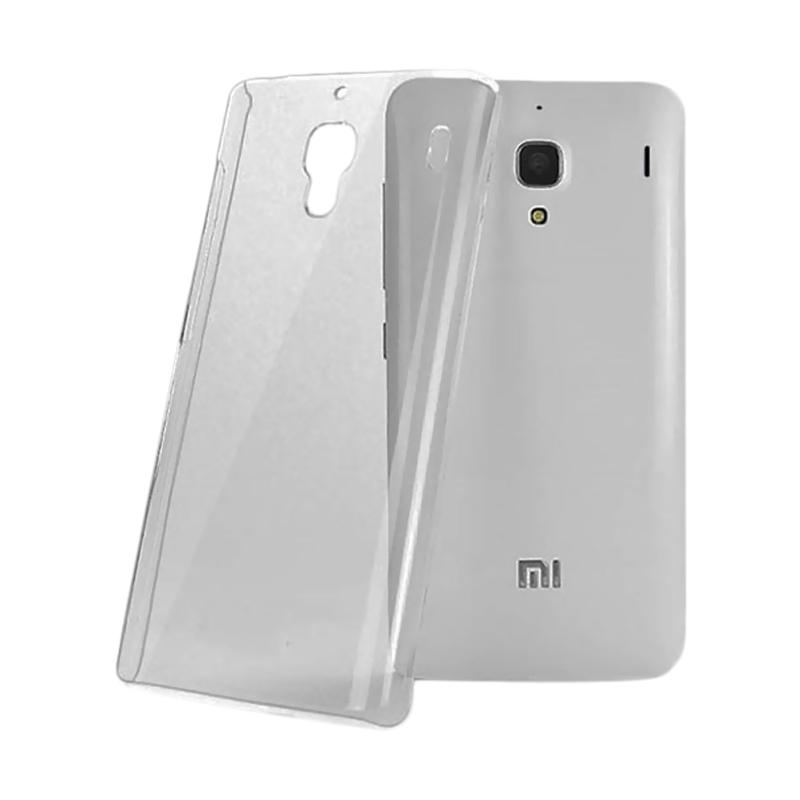OEM Ultrathin Jelly Softcase Casing for Xiaomi Redmi Note - Grey