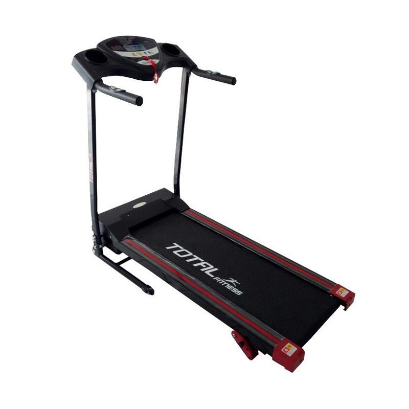 Total Fitness 1 Fungsi TL-626 Treadmill Elektrik - Hitam