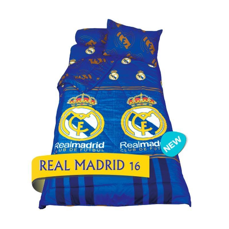 California Motif Real Madrid 16 Set Sprei [Single Size/120 x 200 x 22.5 cm]