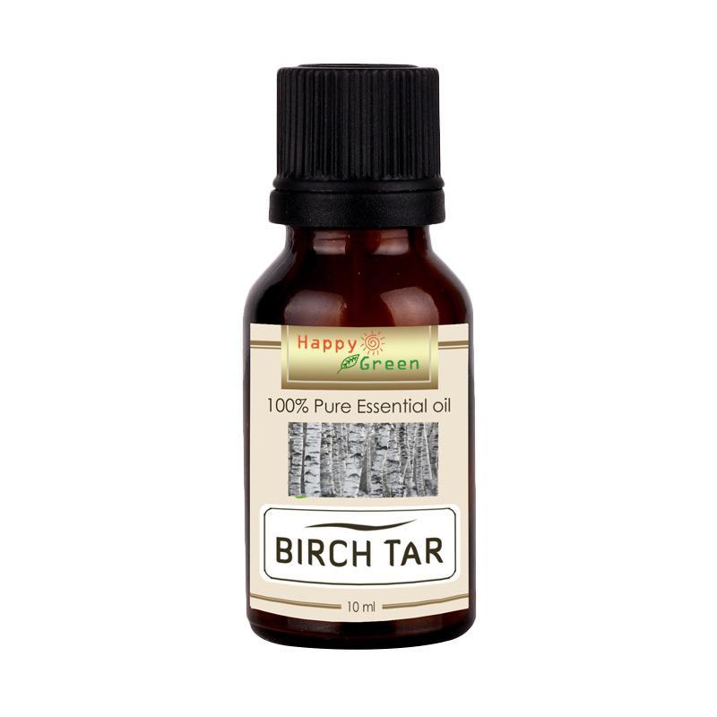 Happy Green Birch Tar Essential Oil Minyak Birch Pahit [10 mL]