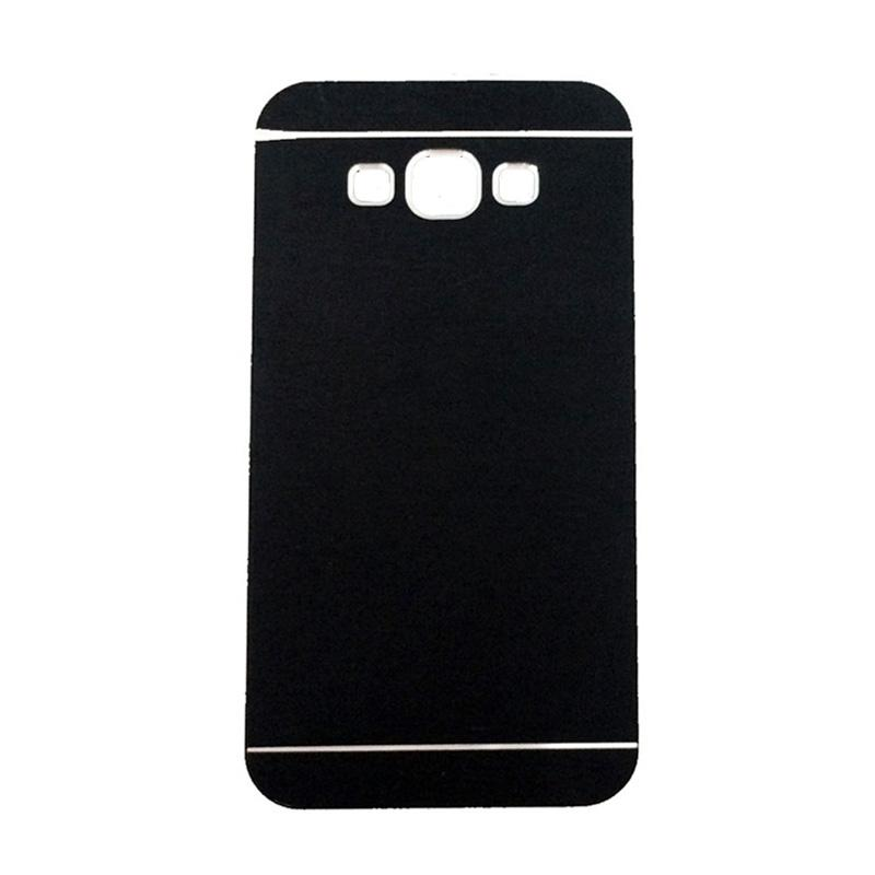 Motomo Metal Hardcase Casing for Samsung Galaxy J7 Core - Black