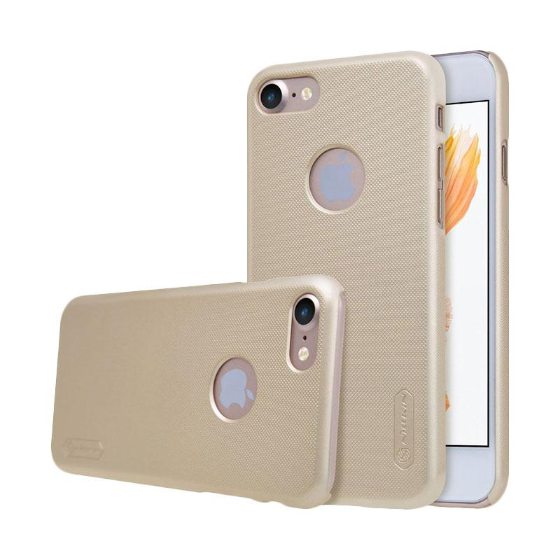 Nillkin Frosted Shield Hardcase Casing for iPhone 6S 4.7 Inch - Gold