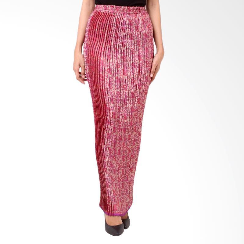 harga Batik Distro R1206 Lipit Songket Panjang Rok Wanita - Merah Blibli.com