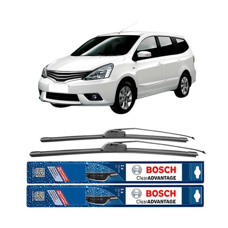 harga Bosch New Clear Advantage Frameless Wiper for Nissan Grand Livina L10 [24 dan 14 Inch] Blibli.com