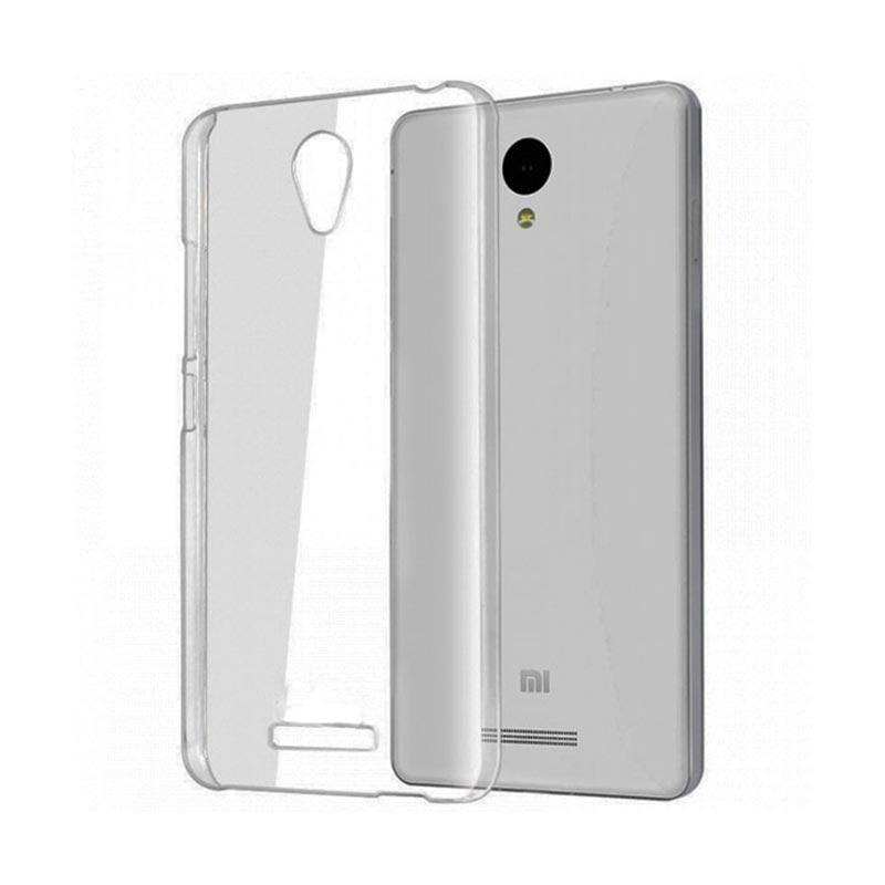 OEM Ultrathin Jelly Softcase Casing for Xiaomi Redmi Note 2 - Grey