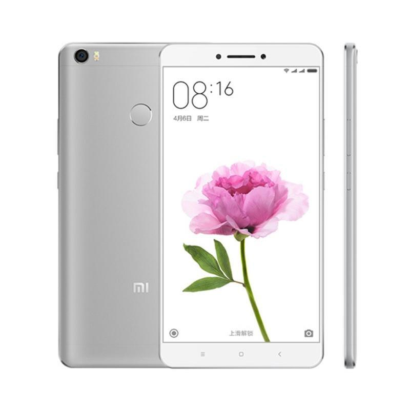 Harga Terbaru Xiaomi MI Max Smartphone – Silver [64 GB/3 GB/Garansi Distributor]