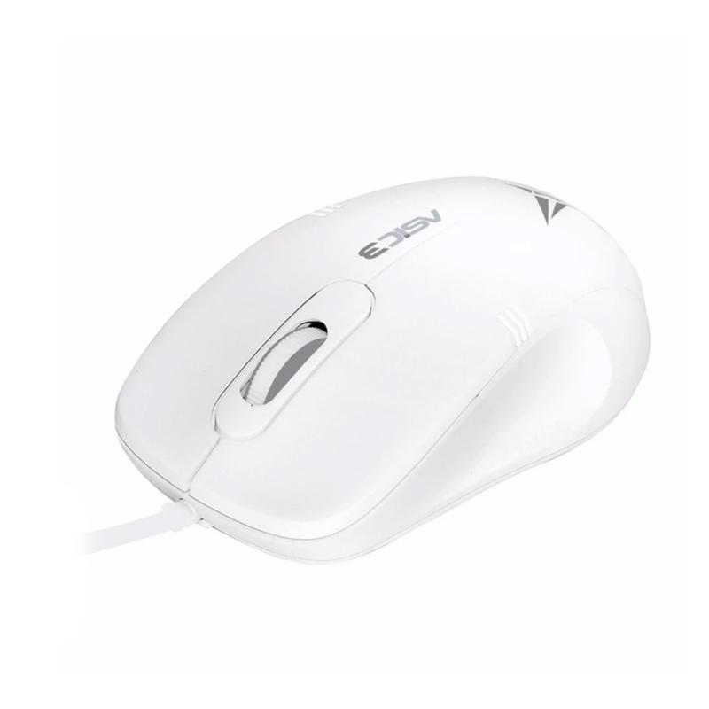 Alcatroz Asic 3 High Resolution Optical Mouse - White Grey