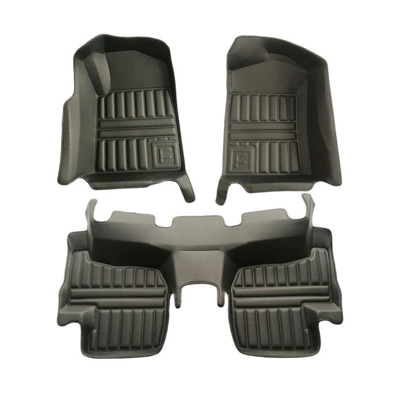 Frontier Karpet Mobil Set untuk Daihatsu Terios - Hitam