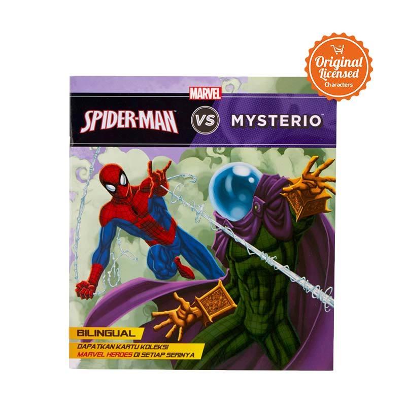 Marvel Story Book Spider Man vs Mysterio Buku Cerita Anak