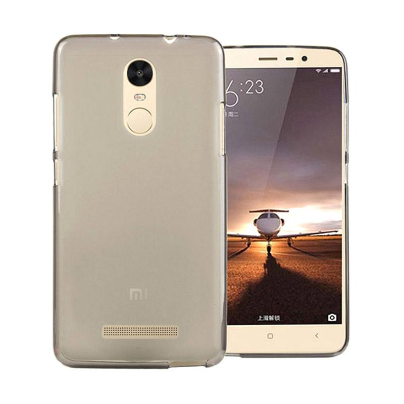 OEM Ultrathin Jelly Softcase Casing for Xiaomi Redmi Note 3 - Grey
