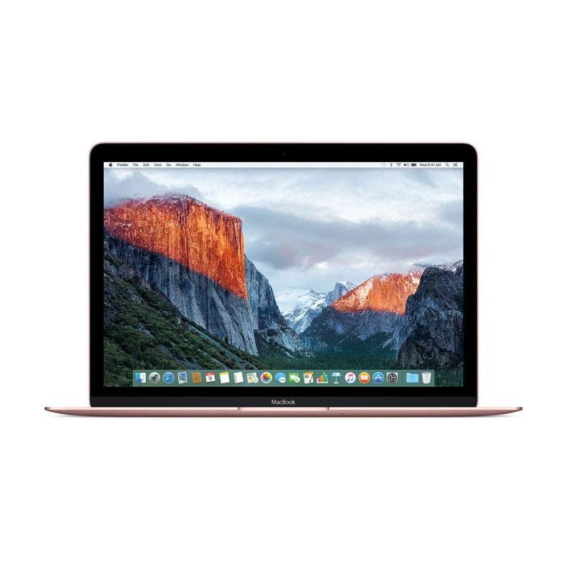 Apple MacBook MMGM2-512 Notebook - Rose [12 Inch/1.2Ghz Dual Core M3/8GB/512GB FS/Intel HD Graphics 515]