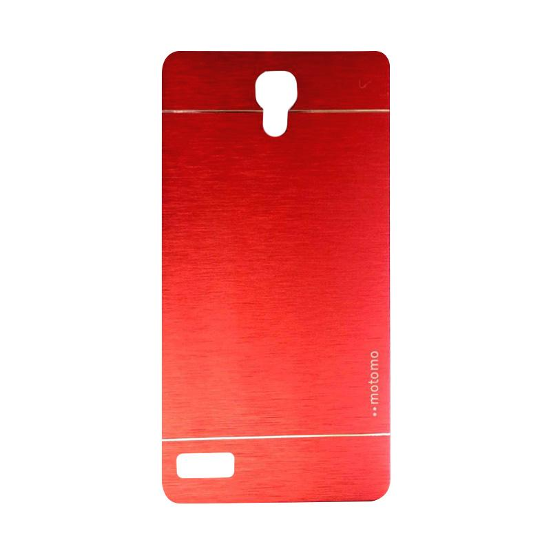 Motomo Metal Backcase Hardcase Casing for Xiaomi Redmi Note - Red
