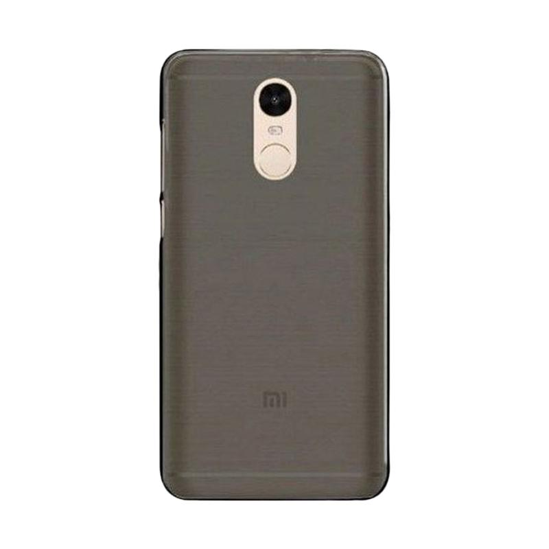 OEM Ultrathin Softcase jelly Casing for Xiaomi Redmi Note 4 - Grey