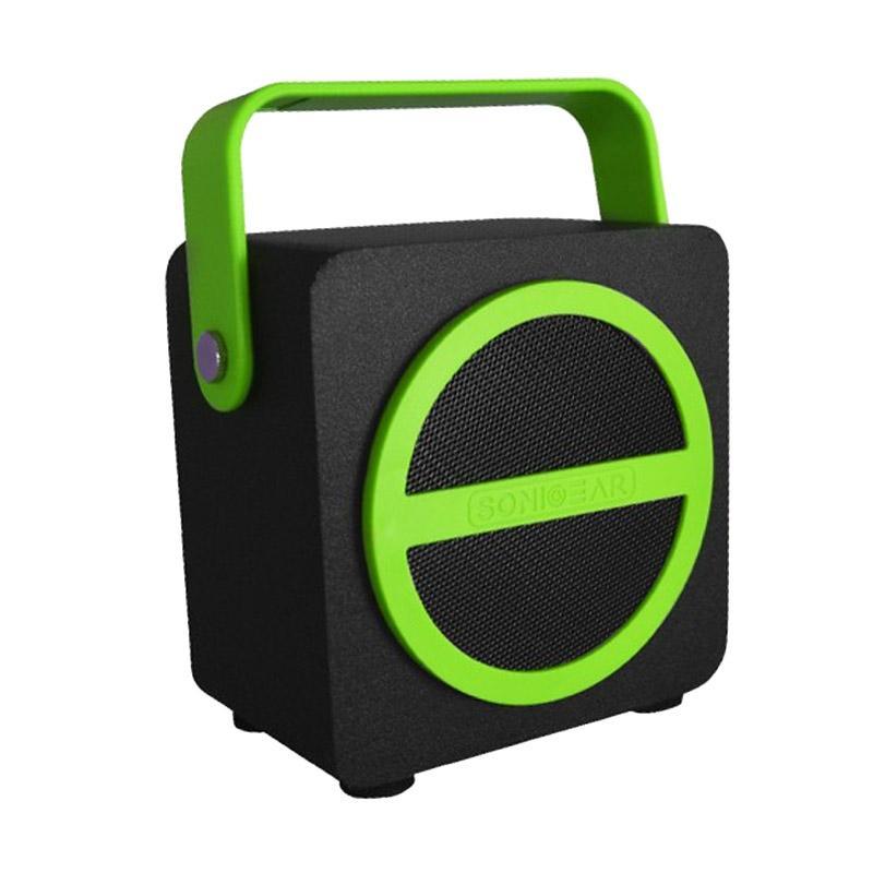 harga Sonicgear Pandora Mini Speaker - Green [Bluetooth/ FM/ USB/ AUX] Blibli.com