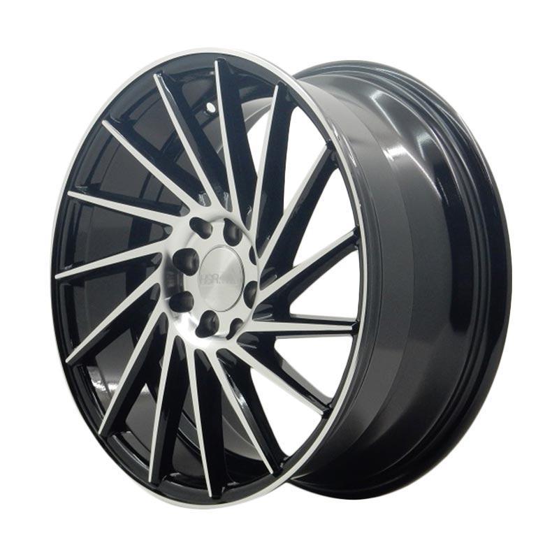 harga HSR Wheel VPS 304 2327R Black Machine Face Velg Mobil [Ring 17x75/85 H8x100/114,3 ET42/40] Blibli.com
