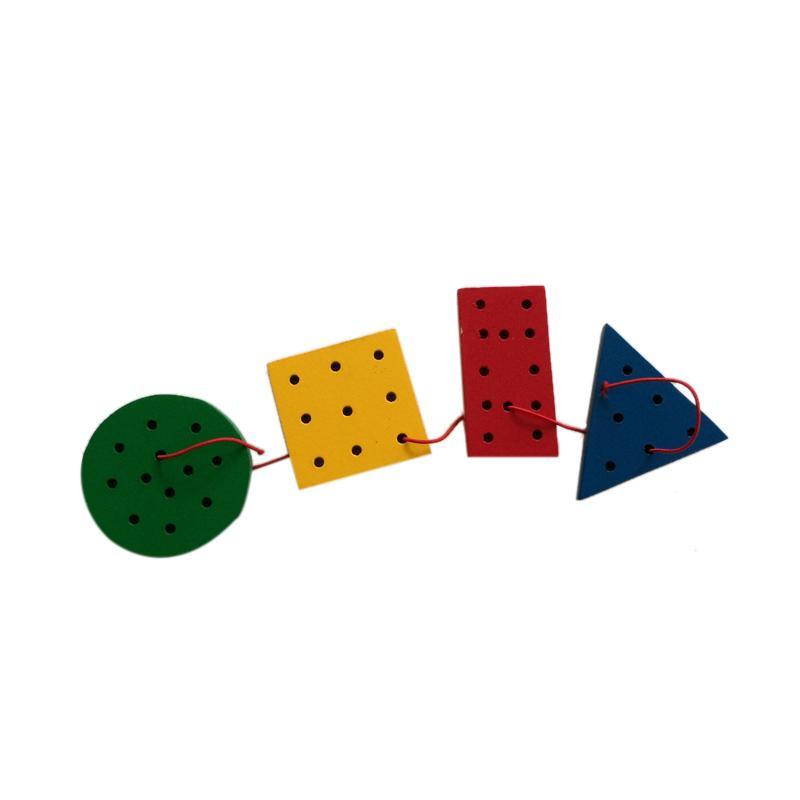 Indigo Kid Toys Menjahit Geometri Mainan Edukasi Anak