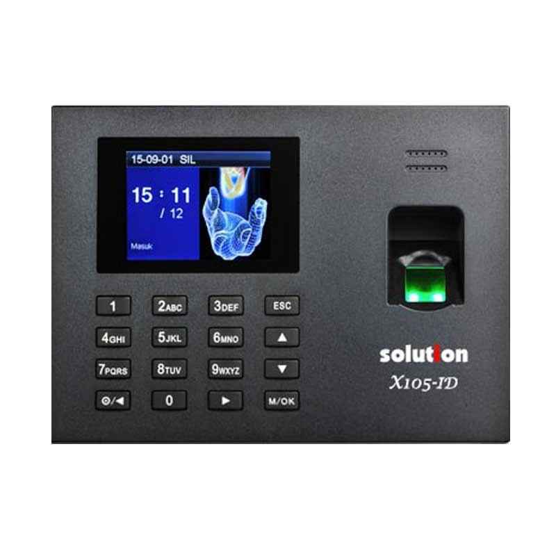 Solution X105-ID Mesin Absensi Fingerprint dan Access Door