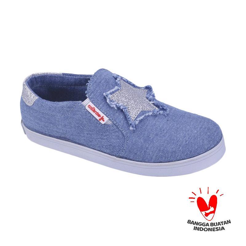 Catenzo Junior Cjr Cda 004 Sepatu Casual Anak Perempuan Biru