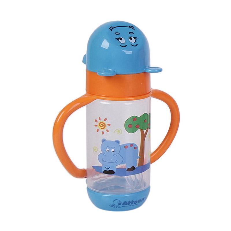 Chloebaby Shop Animal S199 Botol Susu with Handle - Blue [150 mL]