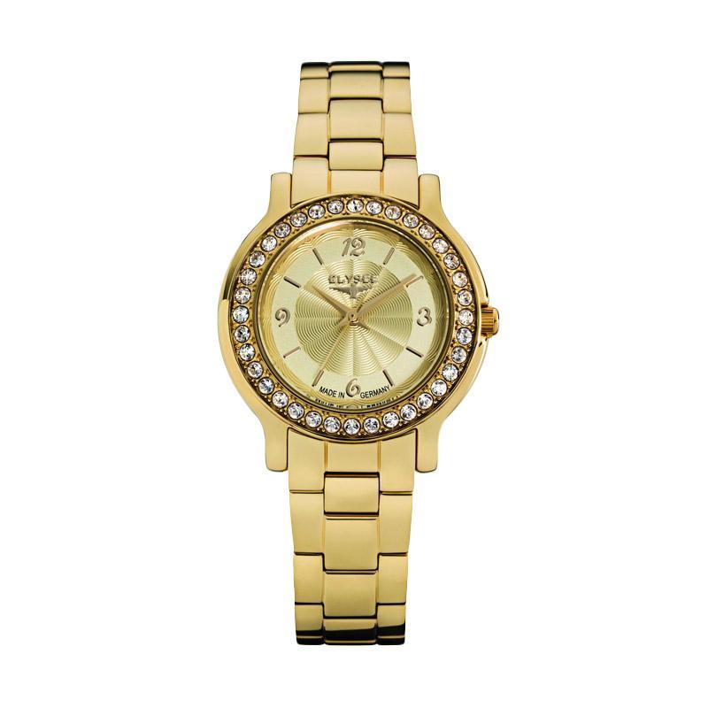 Elysee Watches - Jam Tangan Wanita - Stainless Steel - 28611 - Helena (Gold)