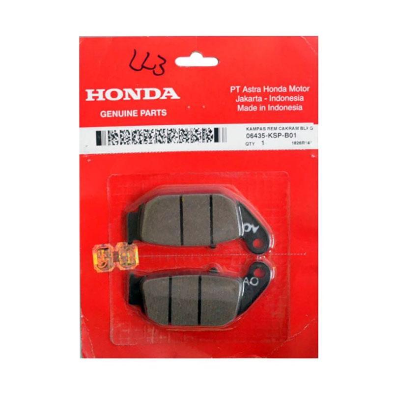 Honda Genuine Parts Kampas Rem Depan 06455KPP901 [AHM0251]