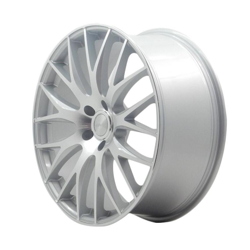 harga HSR Wheel NKB JD123 Silver Machine Face Velg Mobil [Ring 20x85 H5x114,3 ET45] Blibli.com