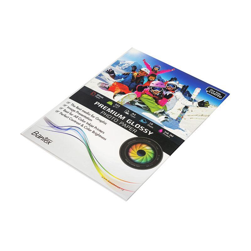 harga Bantex Ink #8001 02 Jet Photo Paper A4 Glossy Kertas Photo [180 g /10 Sheets] Blibli.com