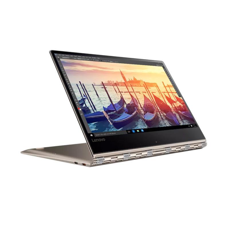 Lenovo Yoga 910 Notebook - Gold [i7-7500U/ 16 GB/ 512 SSD/ 13.9 Inch Touch/ Windows 10]