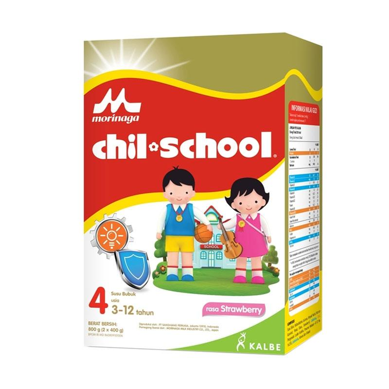 Morinaga Chil School Reguler Strawberry Susu Formula - [800 g]