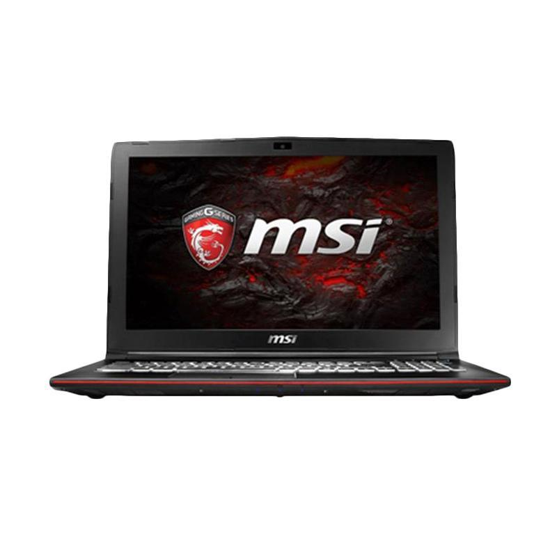 MSI GL62-7RD Gaming Laptop - Black [I7-7700HQ/ 8GB/HDD1TB+SSD128GB/ GTX1050 4GB/ DOS/ 15.6 Inch FHD]