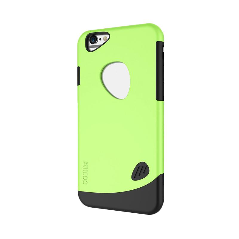 KIM Slicoo Frosted Side Hardcase Casing for Apple iPhone 5/5S/5SE - Green