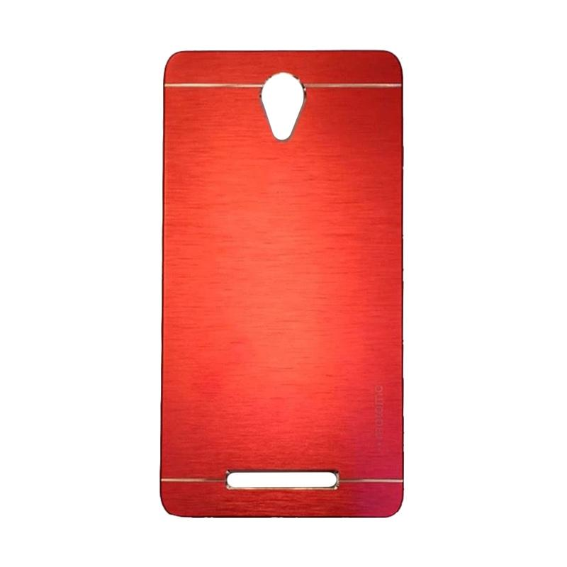 Motomo Metal Backcase Hardcase Casing for Xiaomi Redmi Note 2 - Red