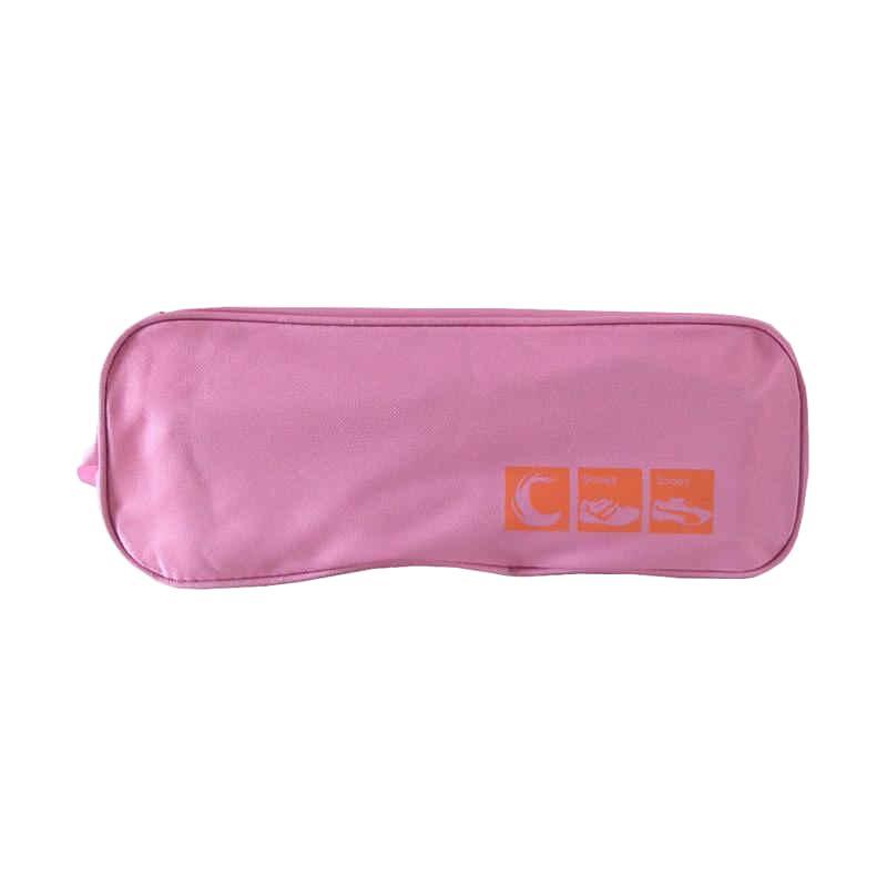 Solidex Tas Sepatu Sandal Olahraga / Organizer Shoes Bag - Pink