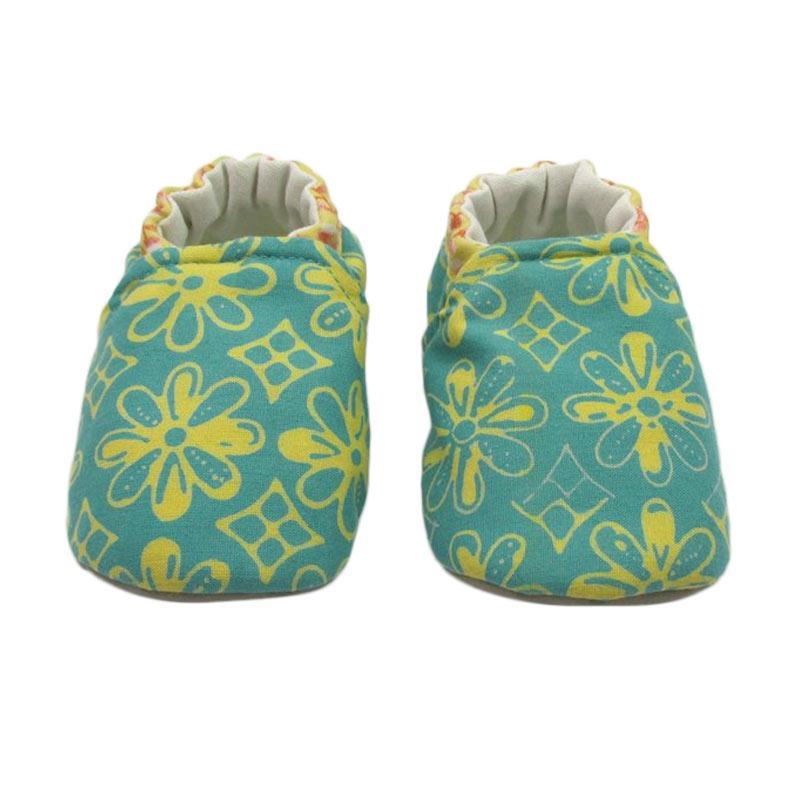 Sweet Batik Astro Shoes Ksf7-29 Sepatu Bayi - Green Yellow