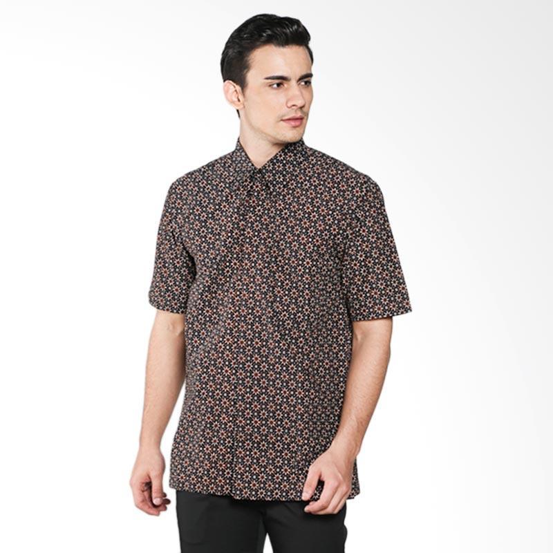 Batik Pria Tampan Trintum PKMPD-04081675P Men Shirt - Teak