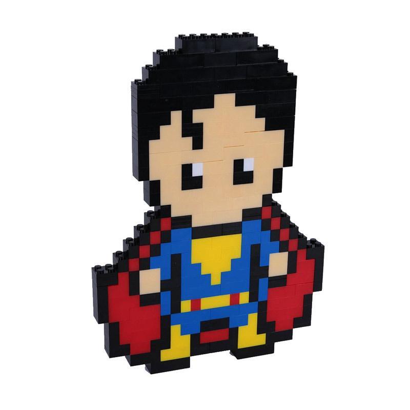 Chloe Babyshop Superman Lego Mainan Anak - Multicolour