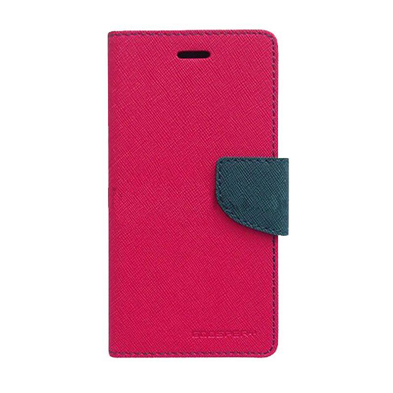 Mercury Fancy Diary Casing for Samsung Galaxy S4 I9500 - Magenta Biru Laut