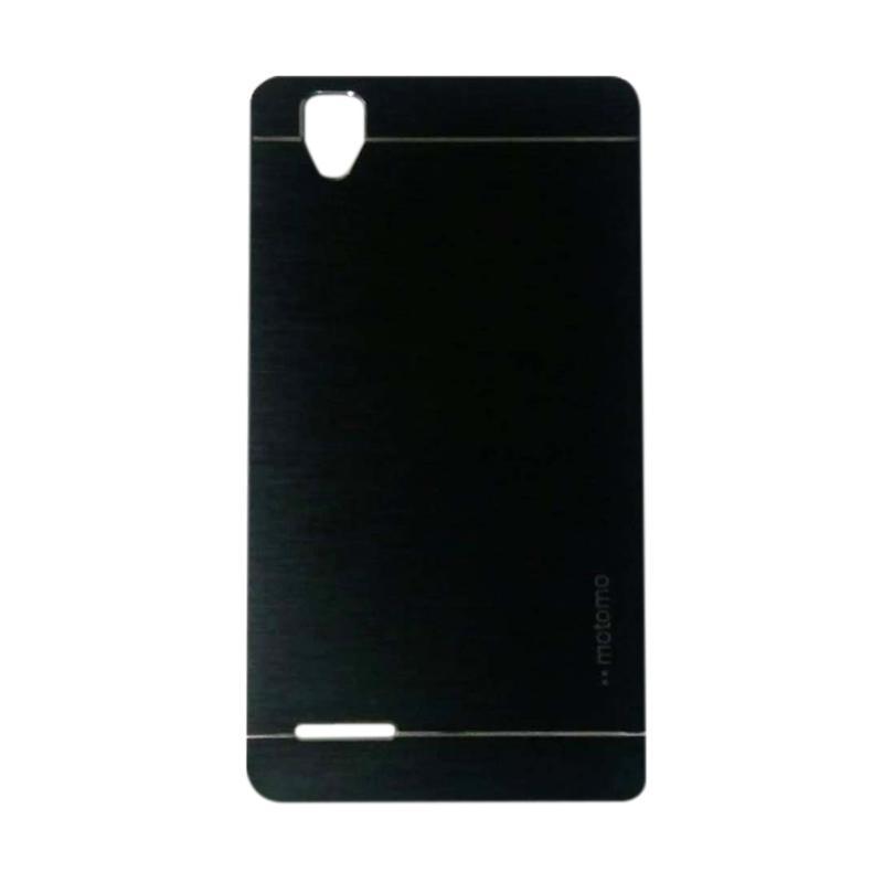 Motomo Metal Hardcase Backcase Casing for Oppo F1 Selfie or A35 - Black