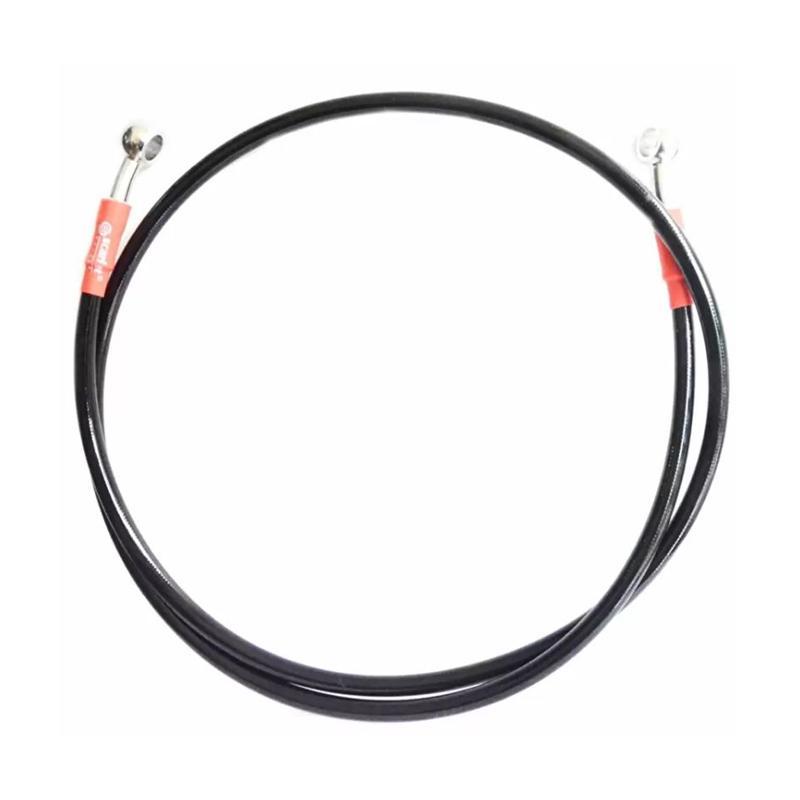 Raja Motor Scarlet Selang Disc Brake Mesh 60 cm - Hitam [SDB8033-Hitam]