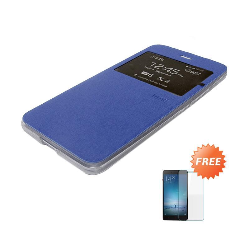 Case Flip Leather Cover For Xiaomi Redmi Note1 Silver Gratis Source Ume Flip .