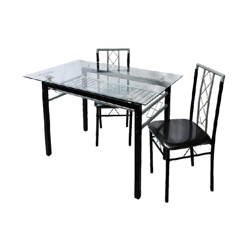Best Furniture IMP-A16B16 Set Meja Makan Minimalis [120 x 75 cm]