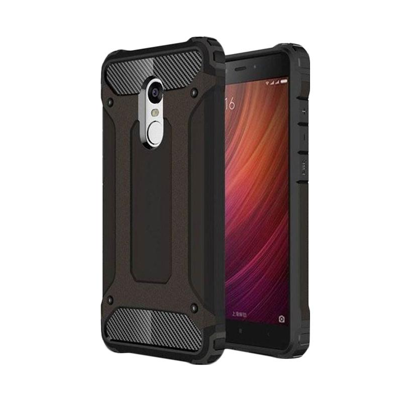 OEM Transformers Iron Robot Hardcase Casing for Samsung A310 A3 2016 - Black