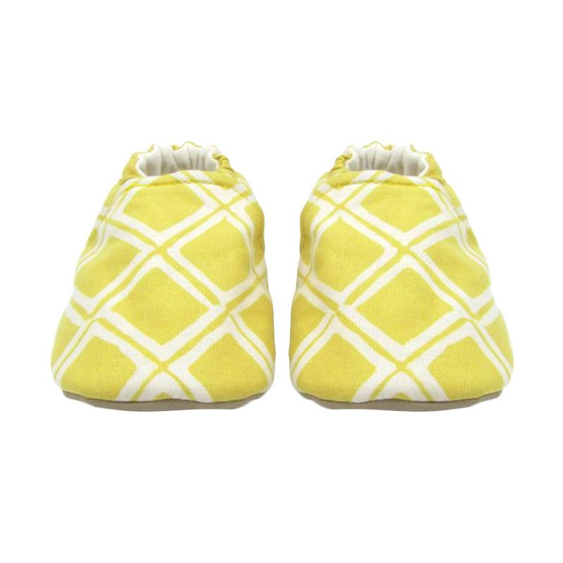 Sweet Batik Astro Shoes Ksf7-16 Sepatu Bayi - Light Yellow