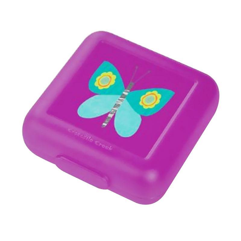 Crocodile Creek Sandwich Butterfly Lunch Box - Purple