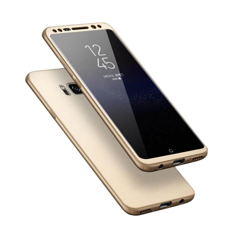 Tunedesign TPU 360 Casing for Samsung Galaxy S8 Plus - Gold