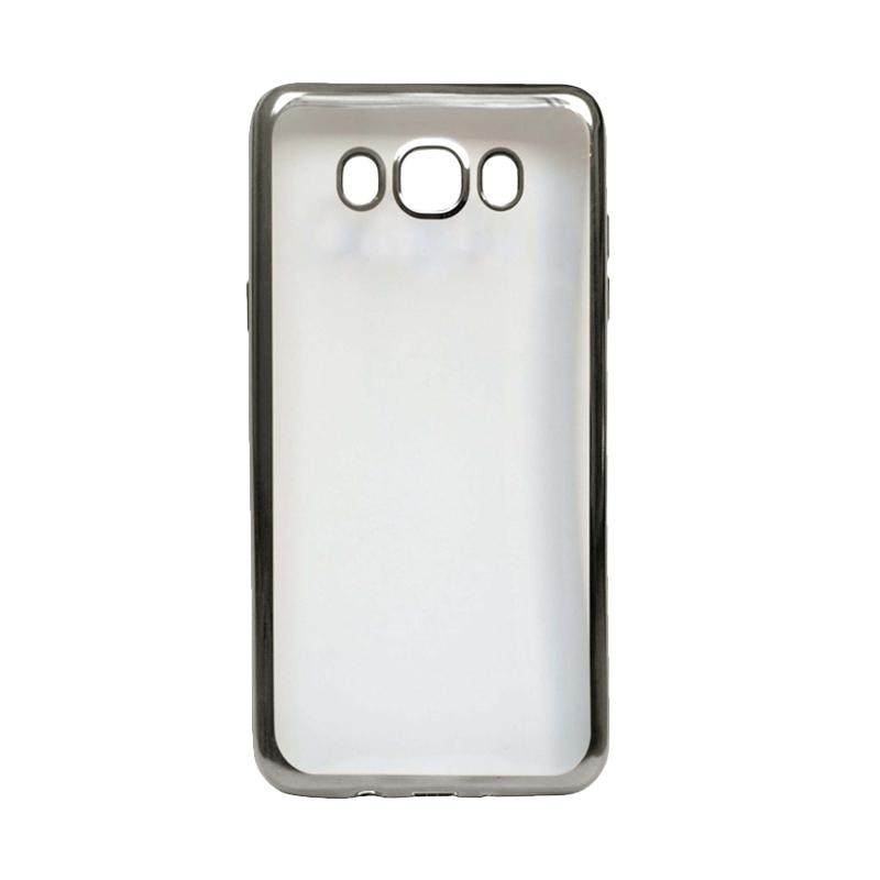 Ultrathin iPhoria Shining Casing for Samsung E5 - Silver